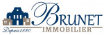 logo Brunet immobilier