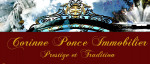 logo Corinne ponce immobilier