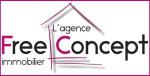 logo Free concept immo