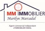 logo Marilyn marcadal - mm immobilier marilyn marcadal