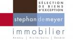 logo Stephan de meyer immobilier