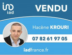 logo Iad france / hacène krouri