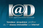 logo Iad france / david vanhoorebeke