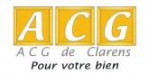 ACG DE CLARENS