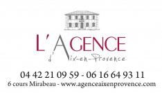 Agence immobilière L'AGENCE D'AIX EN PROVENCE à Aix-en-Provence