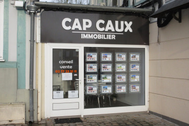 Real estate agent CAP CAUX IMMOBILIER in FONTAINE LE DUN