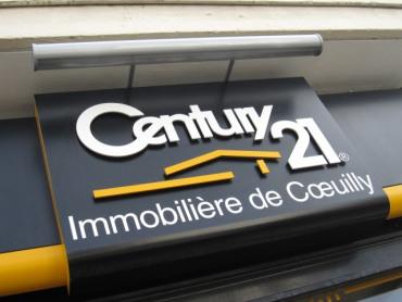 Agence immobilière CENTURY 21 Immobilière de COEUILLY à Villiers sur Marne