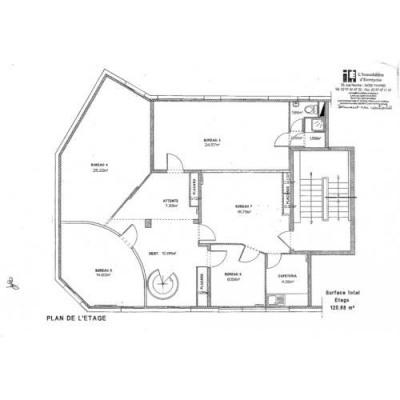 location bureau vannes morbihan 56 237 m r f rence n ml6095 56. Black Bedroom Furniture Sets. Home Design Ideas