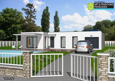 """Modèle de maison  """"Lb267r"""" à partir de 5 pièces Essonne par ART ET TRADITIONS FRANCAISES"""