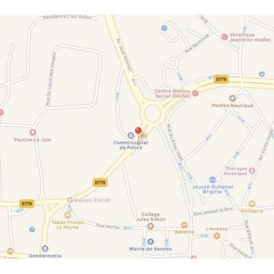 Location bureau vannes morbihan 56 237 m r f rence n for Bureau vannes