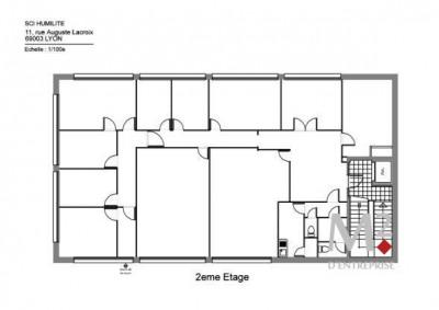 location bureau vaulx en velin 69120 bureau vaulx en velin de 134 m ref lp1686 m2d. Black Bedroom Furniture Sets. Home Design Ideas