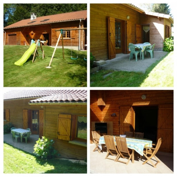 Holiday rentals Cunlhat - House - 8 persons - BBQ - Photo N° 1