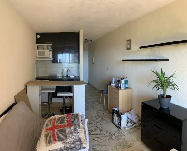Nice - FABRON - Studio meublé 22m² avec terrasse - Nice (06000)-1