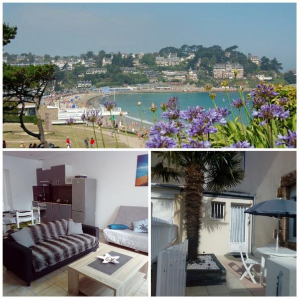 Location vacances Perros-Guirec -  Appartement - 4 personnes - Cour - Photo N° 1