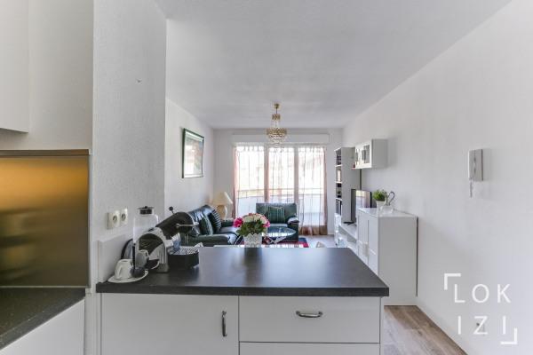 Appartement meublé 2 pièces Bordeaux Caudéran terrasse pkg - Bordeaux (33000)-4