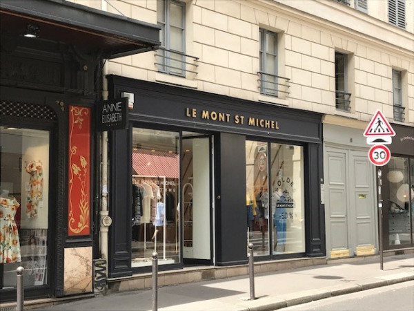 Location Boutique Paris 6ème