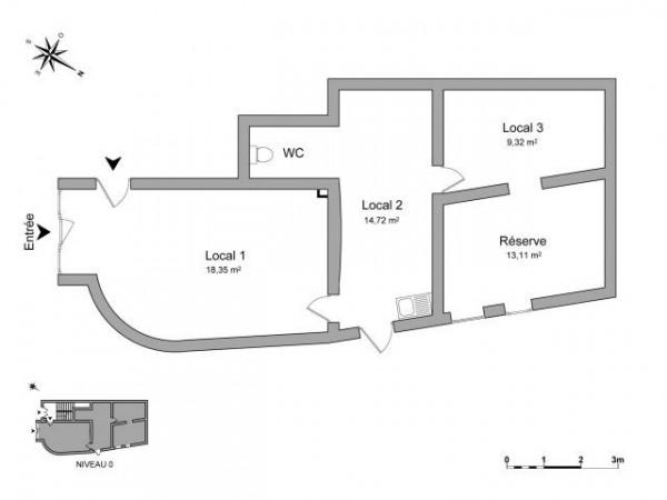 location local commercial clermont ferrand puy de d me 63. Black Bedroom Furniture Sets. Home Design Ideas
