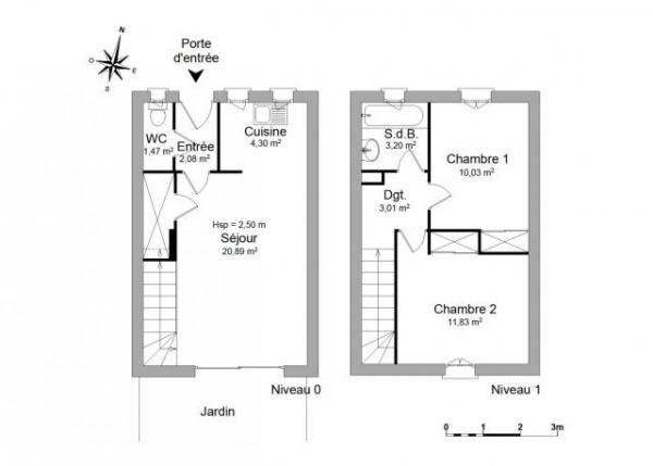 ARLES Appartement meublé 3 pièces 56,81 m² - Arles (13200)-5