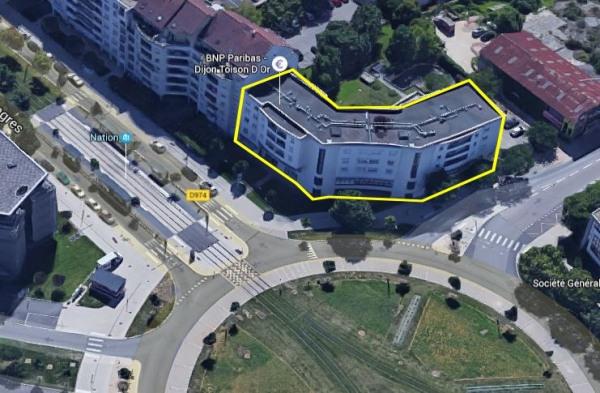location bureau dijon fauconnet 21000 bureau dijon fauconnet de 39 m ref b 039 calypso. Black Bedroom Furniture Sets. Home Design Ideas