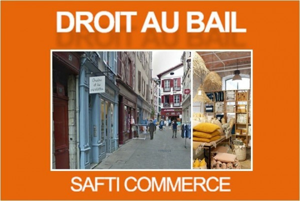 Vente Local commercial Bayonne