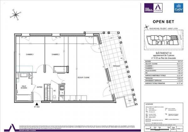 Appartement neuf - Lyon 7ème (69007)-3