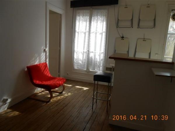 T2, meublé, 1er étage, cour arborée, cuisine équipée - Paris 18ème (75018)-8