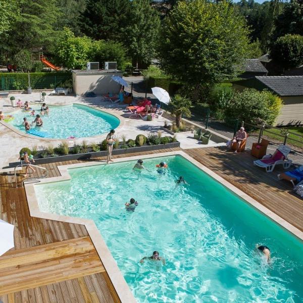 Location vacances Rieupeyroux -  Maison - 5 personnes - Court de tennis - Photo N° 1