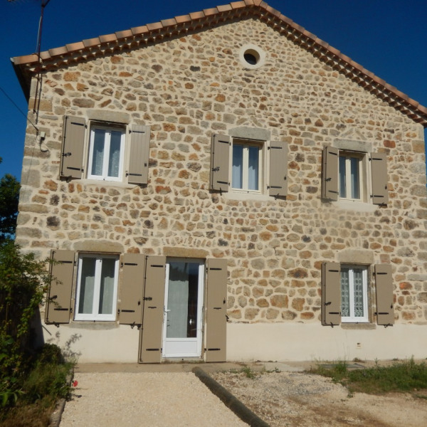 Holiday rentals Rosières - House - 6 persons - BBQ - Photo N° 1
