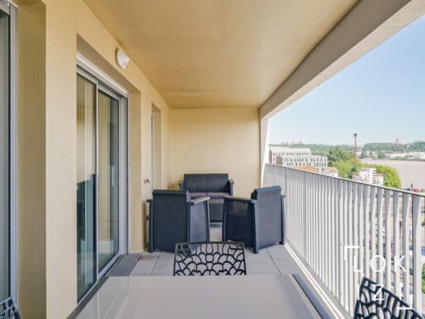 Appartement 4 pièces meublé piscine parking Bordeaux Chartrons - Bordeaux (33000)-13