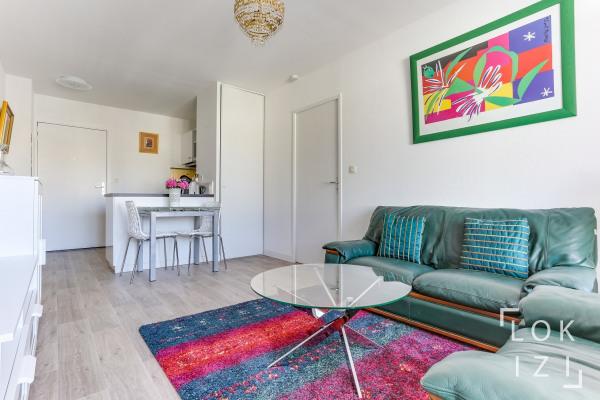 Appartement meublé 2 pièces Bordeaux Caudéran terrasse pkg - Bordeaux (33000)-2