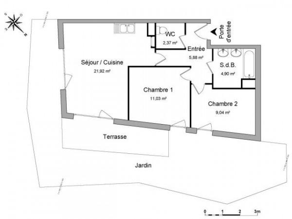 Location Appartement 55m Balma Haute Garonne De