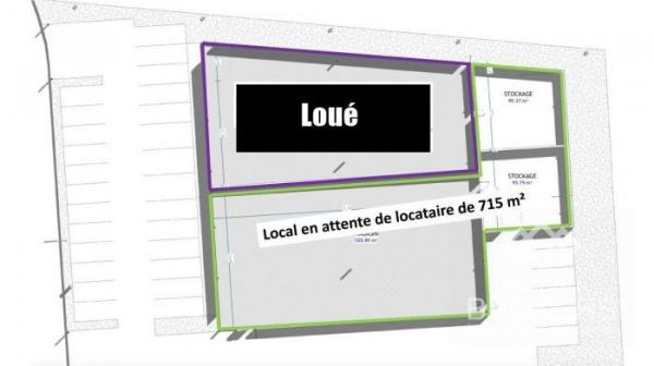 Location Local commercial Sainte-Geneviève-des-Bois