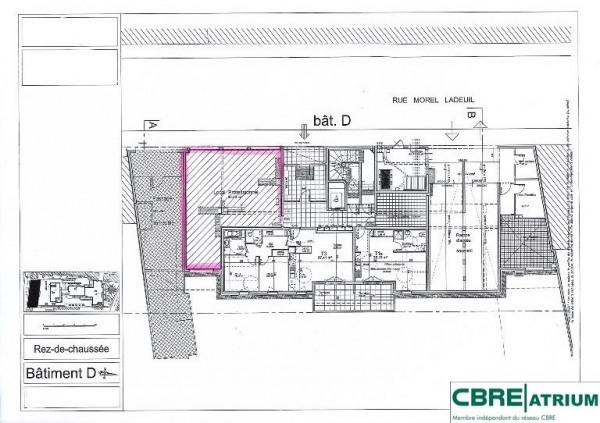 vente bureau clermont ferrand puy de d me 63 80 m r f rence n 63 2768. Black Bedroom Furniture Sets. Home Design Ideas