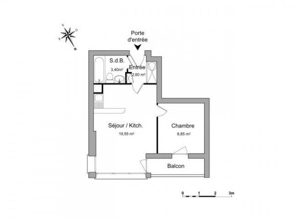 Location appartement 35m bron rh ne de particuliers - Location appartement bron ...