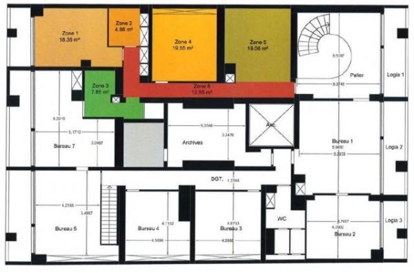 location bureau paris 12 me paris 75 1240 m r f rence n s5111l. Black Bedroom Furniture Sets. Home Design Ideas