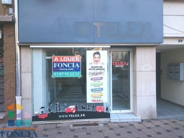 Location Local commercial Saint-Avold
