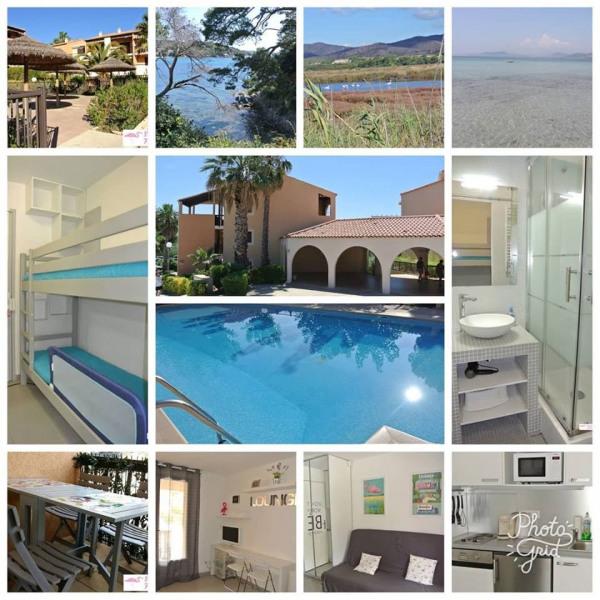 Studio cabine rénové, cosy et fonctionnel, en rez-de-chaussée - Dans une belle résidence avec piscine !