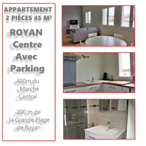 Location vacances Royan -  Appartement - 3 personnes - Câble / satellite - Photo N° 1