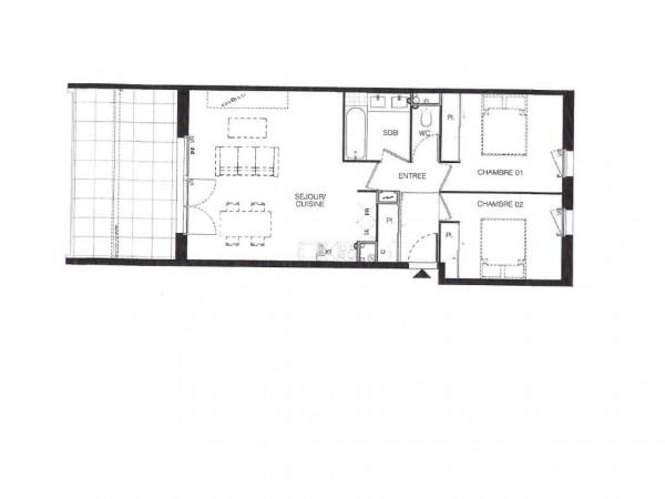 T3 neuf de 62.36m² - Toulouse - Quartier Grand Selve - Toulouse (31000)-10