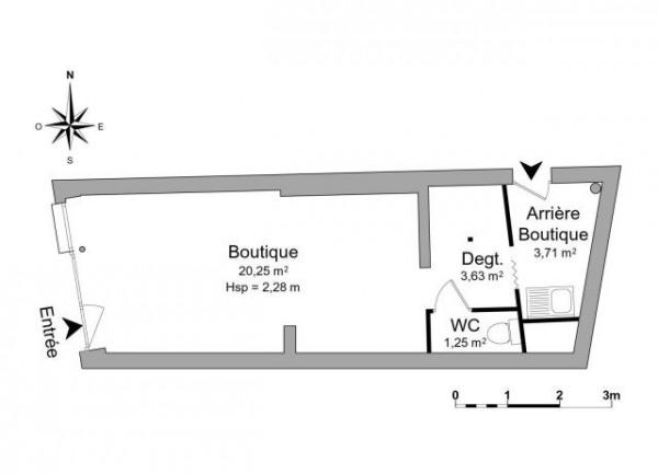 Location Boutique Mantes-la-Jolie 0