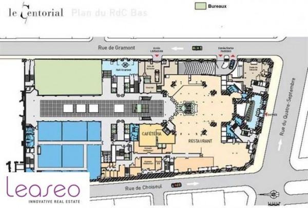 location bureau paris 2 me 75002 bureau paris 2 me de 7209 m ref 4886sl. Black Bedroom Furniture Sets. Home Design Ideas