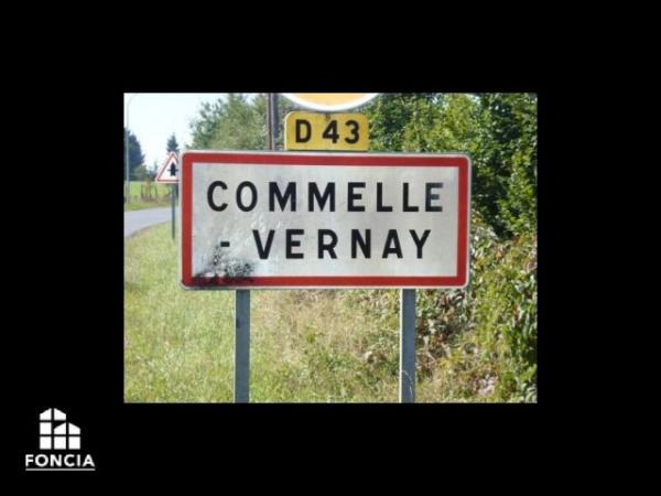 Vente Terrain Commelle-Vernay