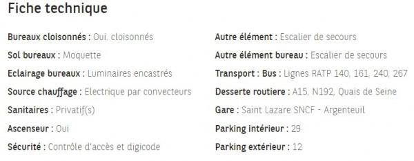 Location Boutique Argenteuil