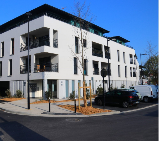 Location vacances La Teste-de-Buch -  Appartement - 2 personnes - Salon de jardin - Photo N° 1