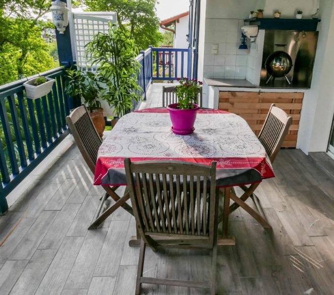 Location vacances Saint-Jean-de-Luz -  Appartement - 6 personnes - Barbecue - Photo N° 1