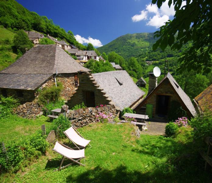 Ferienwohnungen Sentein - Hütte - 4 Personen - Garten - Foto Nr. 1