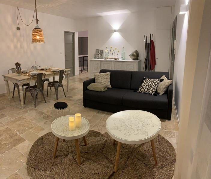 Location vacances Uzès -  Appartement - 5 personnes - Salon de jardin - Photo N° 1