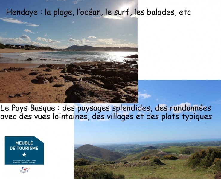 Holiday rentals Hendaye - Apartment - 4 persons - Garden furniture - Photo N° 1