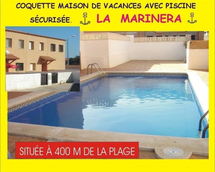 Maison pour 8 pers. avec piscine, Mont-roig del Camp