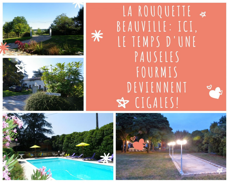 Location vacances Beauville -  Maison - 13 personnes - Barbecue - Photo N° 1